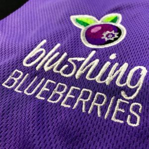 Embroidery Blushing Blueberries Logo