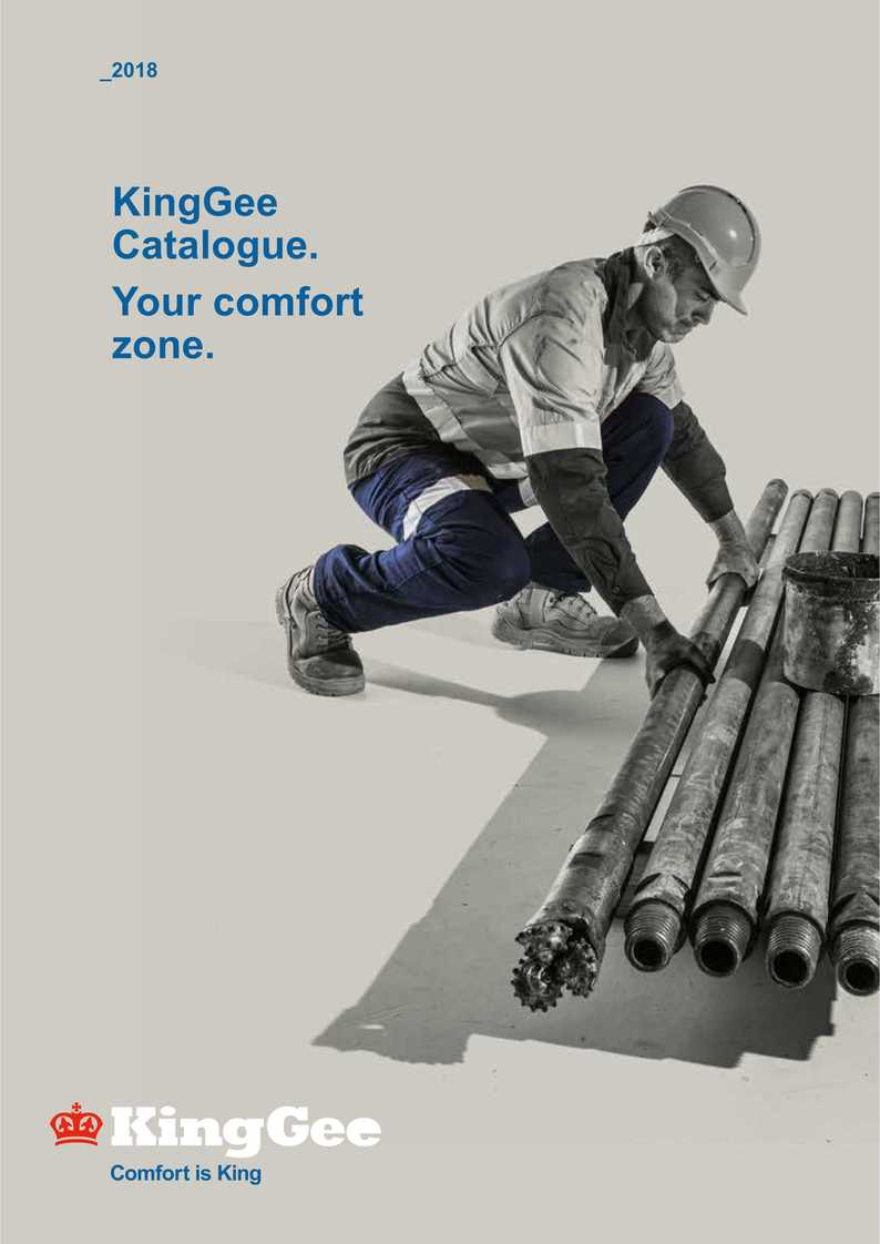KingGee Catalogue Your Comfort Zone