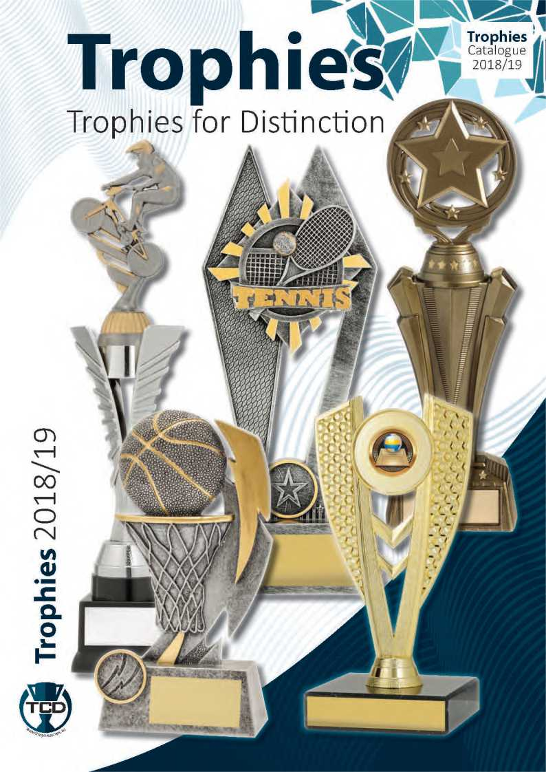 TCD Trophies Bright Trophies with bmx, basketball, Tennis & Star