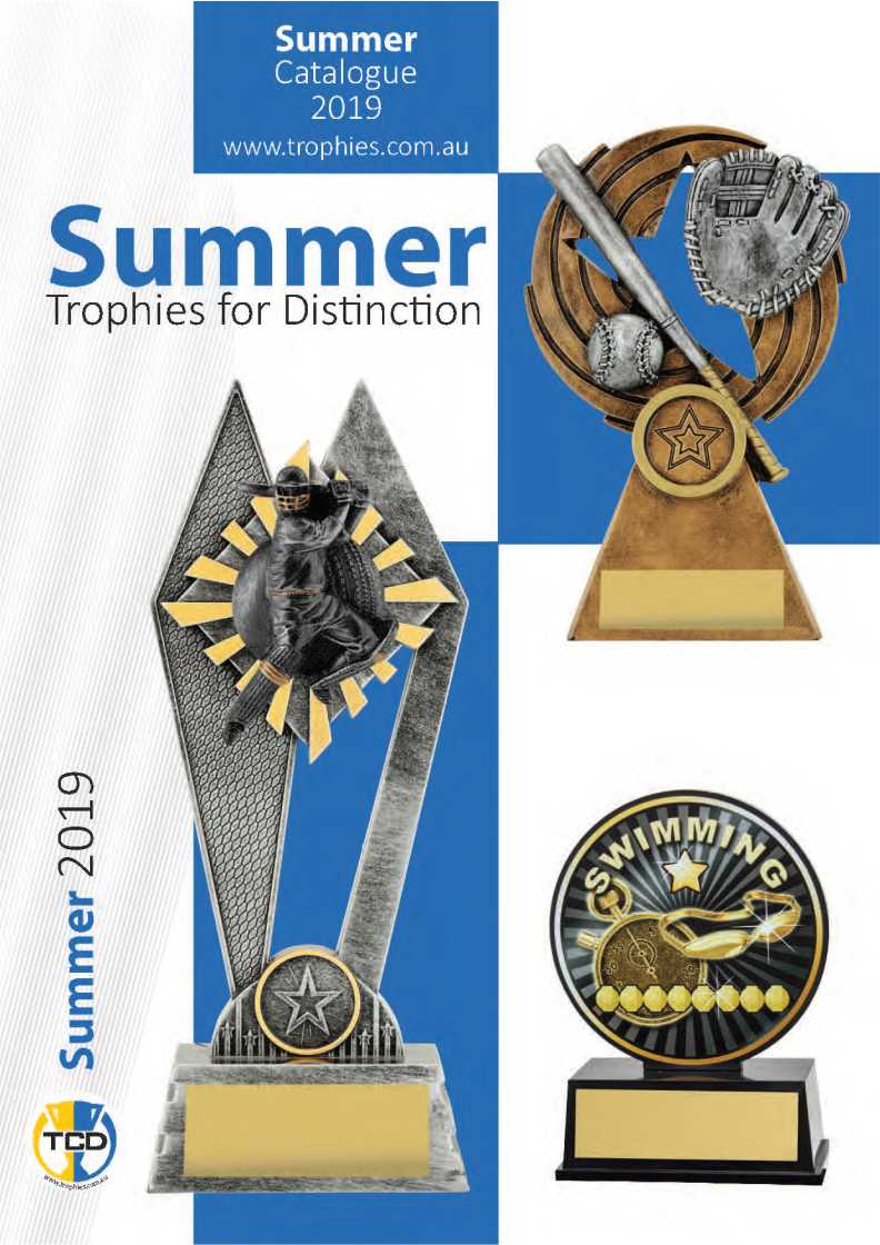 TCD Trophies Silver cricket trophy, bronze baseball trophy & Swimming trophy