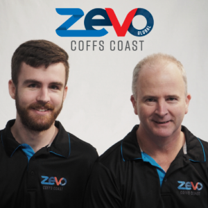 Zevo Global Coffs Coast with Justin & Chris