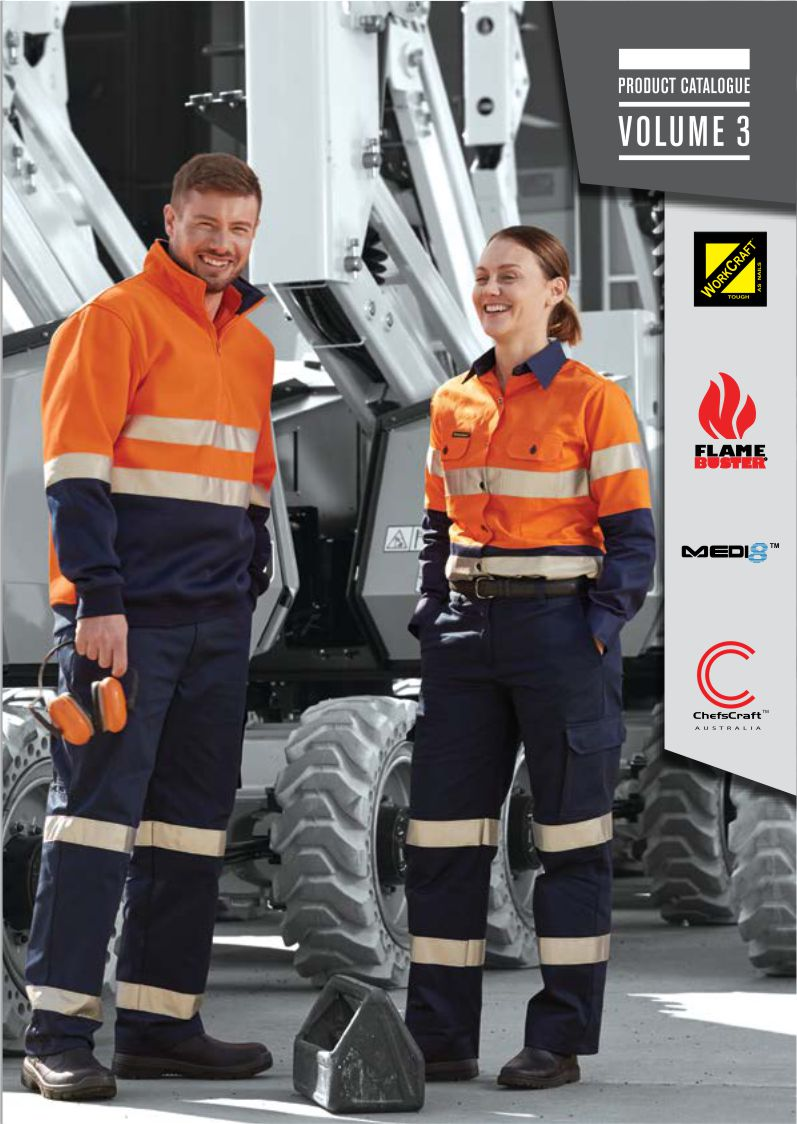 NCC Apparel Catalogue featuring Workcraft workwear