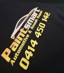 Paint Smart logo on hoodie service used was Digital Printing in Coffs Harbour