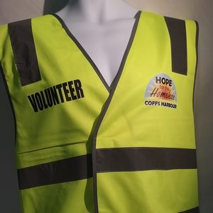 Hivis vest with digital printing