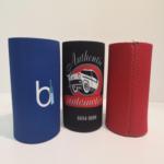 Custom Stubby Holders - Blue, Black & Red