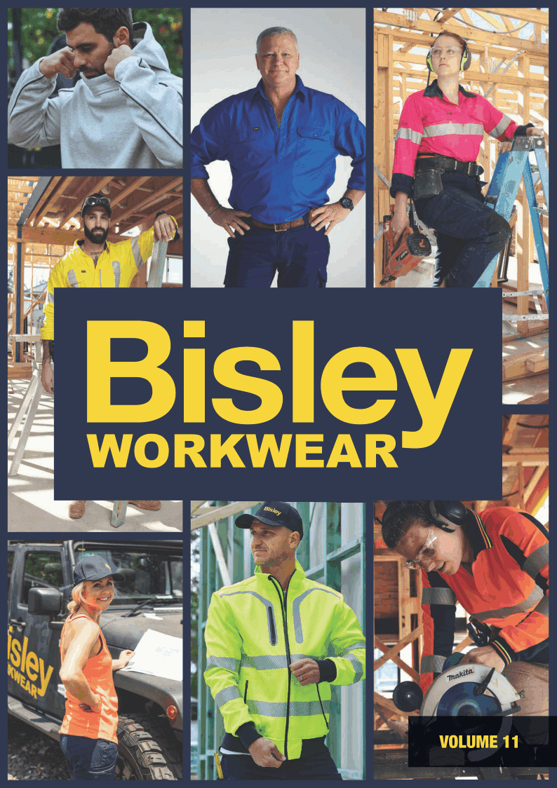 Bisley Catalogue Cover