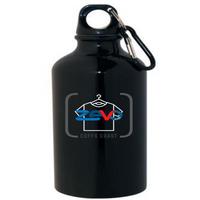 promo products coffs - zevo logo on black drink bottle
