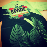 customised Long sleeve work polos with spade total garden & lawn care